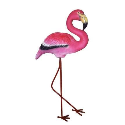 Фигура декоративная Розовый Фламинго L30W15H57см