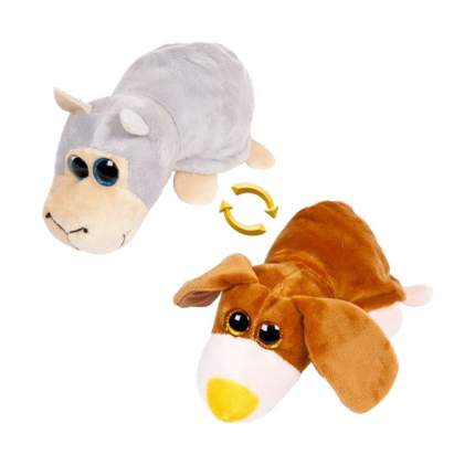 Мягкая игрушка животное Chuzhou Greenery Перевертыши M5002