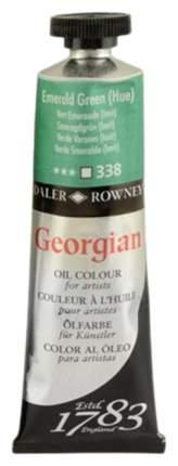 Масляная краска Daler Rowney Georgian изумрудный зеленый имитация 38 мл