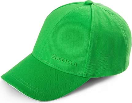 Бейсболка Skoda 000084300AN unisex зелёная VAG