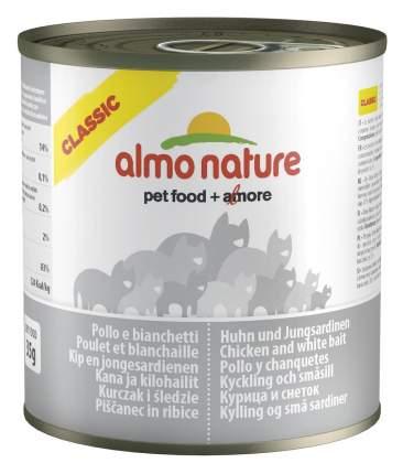 Консервы для кошек Almo Nature Classic, курица и сардины, 280г
