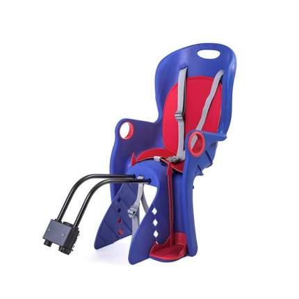 Велокресло детское BQ-8 заднне (универсальный крепеж), Синий