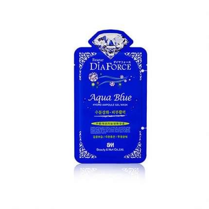 Гидрогелевая маска для лица Rearar Dia Force Agua Blue Hydro Ampoule Gel Mask