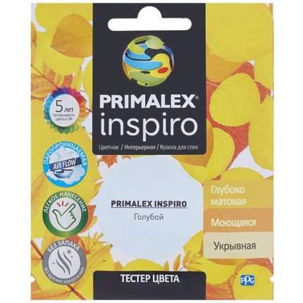 Краска для внутренних работ Primalex Inspiro Тестер 30мл Голубой, PMX-I18