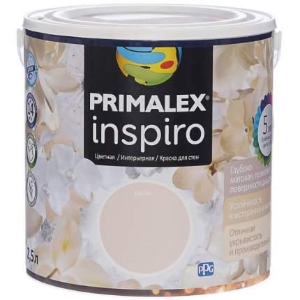Краска для внутренних работ Primalex Inspiro 2,5л Безе, 420149
