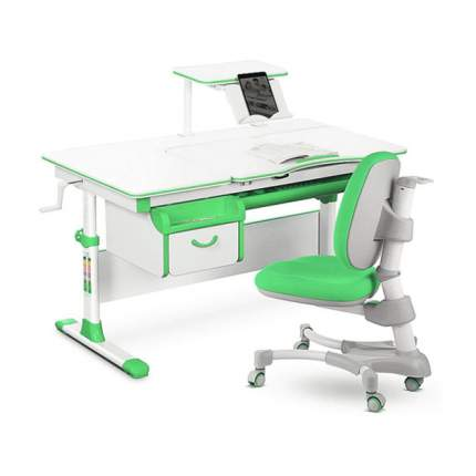 Комплект парта и кресло Mealux EVO-40 зеленый, белый,