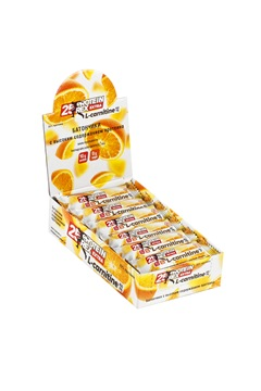 """Батончик с высоким содержанием протеина и L-карнитином ProteinRex """"апельсин"""", 18 шт по 40г"""