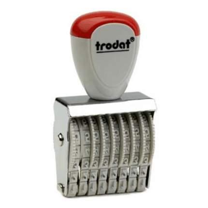 Нумератор ленточный Trodat Classic Line 1558. 8 разряда. Высота шрифта: 5 мм.