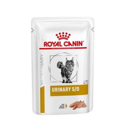 Влажный корм для кошек ROYAL CANIN URINARY S/O, при МКБ, курица, 12шт по 85г
