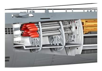 Подводная лодка u-boot typ xxi с внутренней отделкой, немецкая