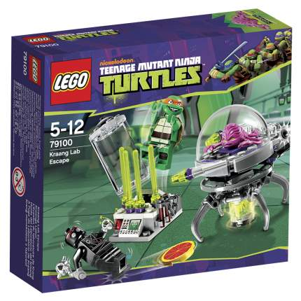 Конструктор LEGO Ninja Turtles Побег из лаборатории Крэнга (79100)