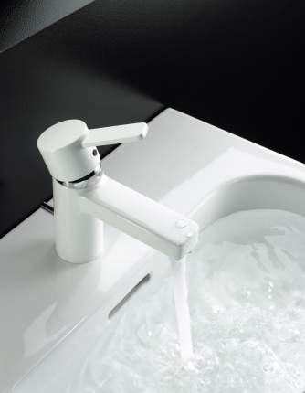 Смеситель для раковины Kludi ZENTA 382609175 белый/хром