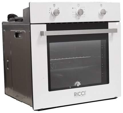 Встраиваемый газовый духовой шкаф RICCI RGO-610WH White