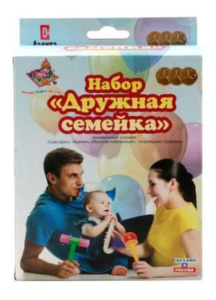 Набор музыкальных инструментов детских Аэлита Дружная семейка
