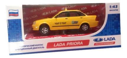 Коллекционная модель Carline 1:43 Lada Priora - Такси