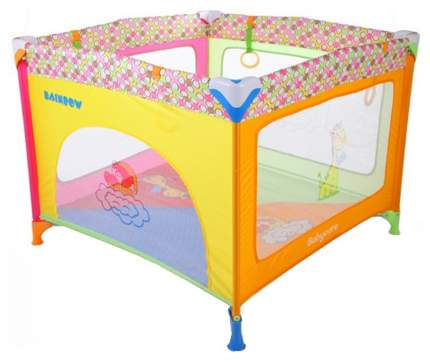 Манеж Baby Care P02-F Rainbow