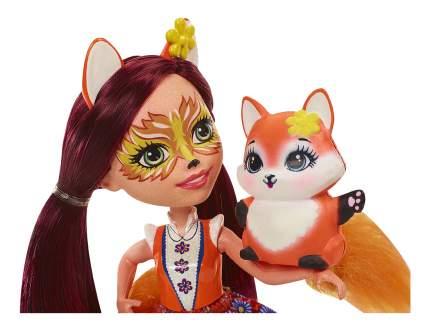 Коллекционная кукла Enchantimals Фелисити Лис и Флик DVH87/DVH89