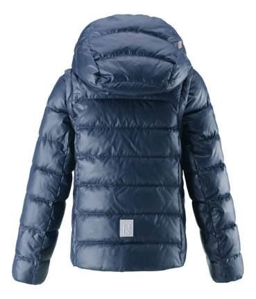 Куртка Reima пуховая 2 в 1 для девочки Minna темно-синяя р.110