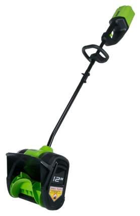 Аккумуляторный снегоуборщик Greenworks GES80 2600707 БЕЗ АККУМУЛЯТОРА И З/У