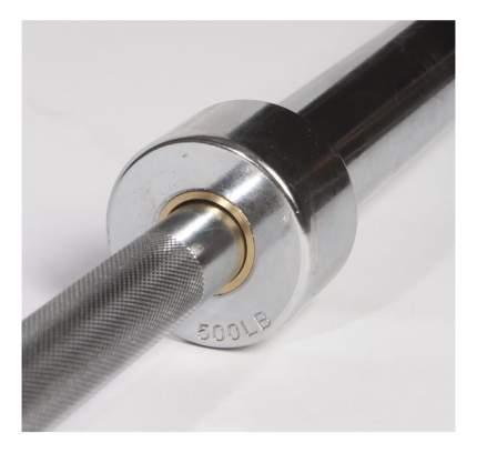 Гриф для штанги прямой Original Fit.Tools FT-OB-500LBS-CROME 218 см, 50 мм