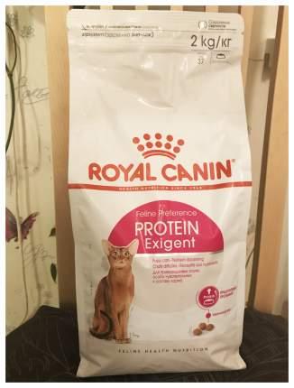 Сухой корм для кошек ROYAL CANIN Protein Exigent, для привередливых к составу, 2кг