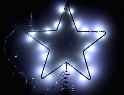 Верхушка для ели Snowhouse Звезда 20 см холодная белая