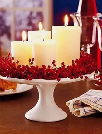 """Kaemingk Арома свечи """"Ваниль"""", 5*8 см, 4 шт 214594"""