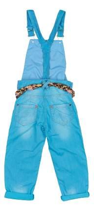 Полукомбинезон Pelican для девочки джинсовый 146 размер