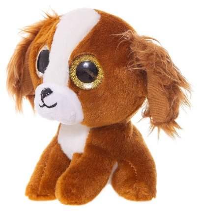 Мягкая игрушка ABtoys Собачка коричневый 15 см