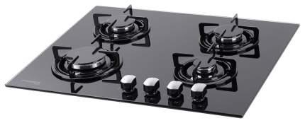 Встраиваемая варочная панель газовая Pyramida PFG 646 Black