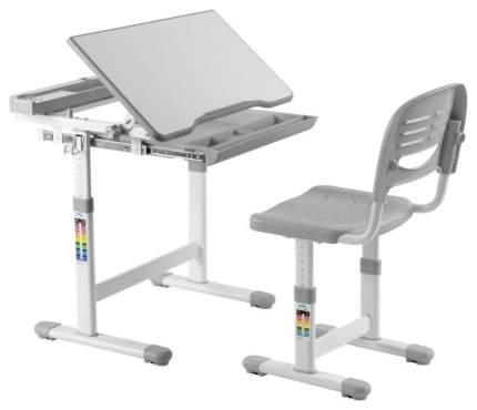 Растущая парта и стул-трансформер FunDesk Cantare Grey