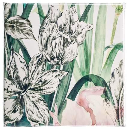 Наволочка Santalino белый, зеленый 70x70