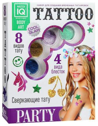 Переводные тату Master IQ Tattoo Party