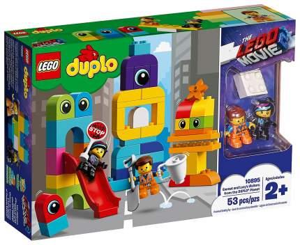 Конструктор LEGO Duplo 10895 Пришельцы с планеты Duplo