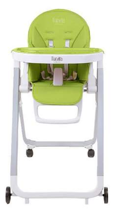 Стульчик для кормления Nuovita Futuro Bianco Verde /зеленый