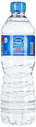 Вода Nestle pure life питьевая 0.5 л 12 штук в упаковке