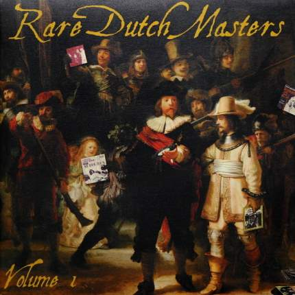 "Виниловая пластинка Various Artists ""Rare Dutch Masters Volume 1"" (2X10"" VINYL LP)"