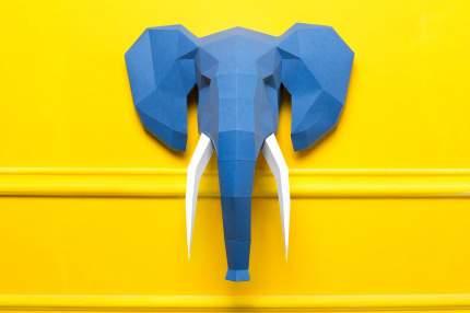 Набор для сборки полигональных фигур: Слон