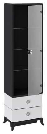 Платяной шкаф Трия TRI_104632 56х36,7х191, черный/белый