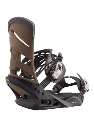 Крепления для сноуборда Burton Mission 10546106007 2020, коричневые, L
