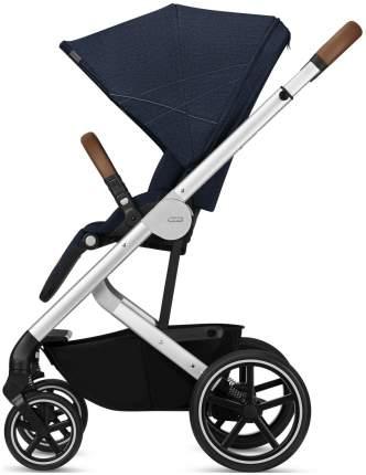 Cybex коляска прогулочная balios s denim blue denim collection с дождевиком