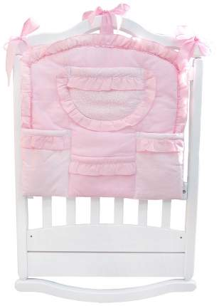 Карман на кроватку BOMBUS Малышка розовый 5076