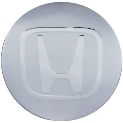 Наклейки на диски литые с логотипом автомобиля Хонда 12050016 D-56 мм серебристые