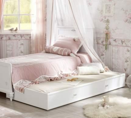 Кровать выдвижная Cilek Romantic 90х180 см, белый