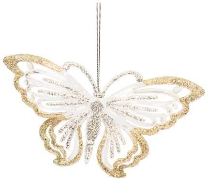 Елочная игрушка Феникс Present Золотые бабочки 75956
