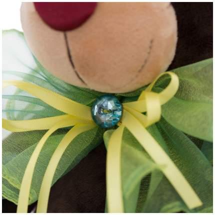 Мягкая игрушка Choco с зелёным бантом, 25 см Orange