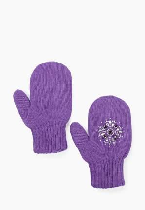 Варежки детские ALEKSA р.14 цвет фиолетовый