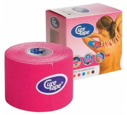 Кинезио тейп CureTape 5 м х 5 см, 5см 160165-pink