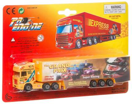 Мет.маш. Pioneer Toys Container Truck CRD PT303