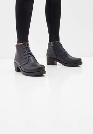 Ботинки женские Alessio Nesca 710018074 синие 38 RU